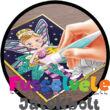 Csillámkép készítés képkerettel Tündérek (Buki kreatív játék, 6-12 év)