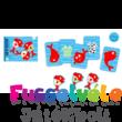 Spidifish, pancsoló kártyajáték (Djeco, 5155, fürdőjáték, 4-8 év)