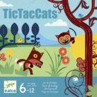 TicTacCats (Djeco, 8449, amőba társasjáték, 6-12 év)