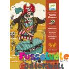 Filctollas színező, A Fekete Gyöngy kalózai (Djeco, 8645, kreatív játék óvodásoknak, 3-6 év)