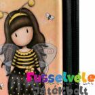 Gorjuss cipzáras fém tolltartó - Bee-Loved (Just BEE-Cause)