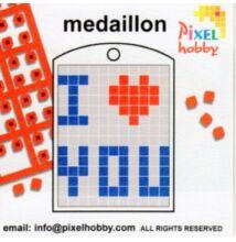 Pixelhobby ötletfüzet kulcstartóhoz