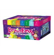 Brainbox családi társasjáték (memória kvízjáték 8 témakörrel, 8-99 év)