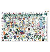 Megfigyelő puzzle, 1000 virág (Djeco, 7507, 100 db-os kirakó, 6-12 év)