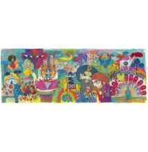 Művész puzzle, Varázslatos India (Djeco, 7649, 1000 db-os kirakó, 6-99 év)