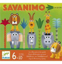 Savanimo (Djeco, 8403, gyorsasági megfigyelős társasjáték, 6-10 év)