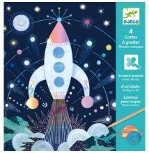 Karcképek, Űrutazás (Djeco, 9727, kreatív készlet, 6-11 év)