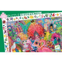 Megfigyelő puzzle, Riói karnevál (Djeco, 7452, 200 db-os kirakó, 6-12 év)
