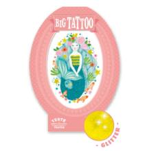 Tetoválás, Aqua blue (Djeco, 9600, kreatív játék, 3-10 év)