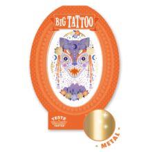 Tetoválás, Mystic Beast (Djeco, 9601, kreatív játék, 3-10 év)