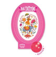 Tetoválás, Rose India (Djeco, 9602, kreatív játék, 3-10 év)