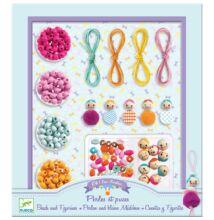 Ékszerkészítő, Fagyöngyök és figurák - Beads and figurines (Djeco, 9819, kreatív játék, 8-12 év)