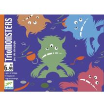 Triomonsters (Djeco, 5187, szörnyes kártyajáték, 6-99 év)