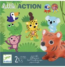 Első társasjáték, Little Action (Djeco, 8557, egy kis cselekvés, 2-5 év)