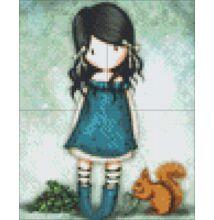 Pixelhobby képkészlet - Gorjuss You brought me love (4 alaplapos)