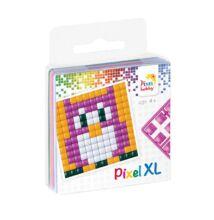 Pixel XL szett - Bagoly ( 1 kis alaplap,4 szín)
