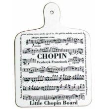 Zenei vágódeszka, Chopin (konyhai ajándéktárgy)