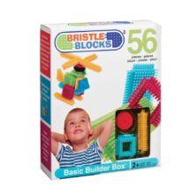 BRISTLE BLOCKS készlet - 56db (Bébi építőjáték, 2-5 év)