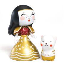 Arty Toys hercegnő - Mona Moon (Djeco, 6785, játékfigura, 3-10 év)