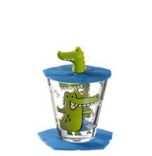 Gyerek pohár készlet 3 részes, Krokodil (Leonardo, 3 éves kortól)