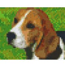 Pixelhobby képkészlet, BEAGLE kutya1 (1 alaplapos)