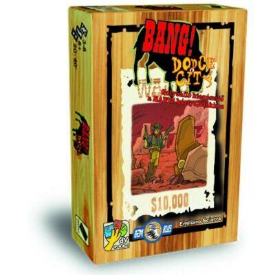 Bang! Dodge City (stratégiai társasjáték, 10-99 év)