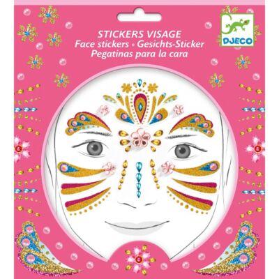 Arc dekoráló készlet, Arany hercegnő (Djeco, 9211, kreatív játék, 3-12 év)