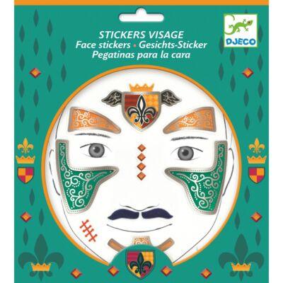 Arc dekoráló készlet, Lovag (Djeco, 9216, kreatív játék, 3-12 év)