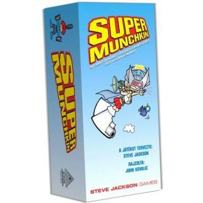 Super munchkin kártyajáték (Delta Vision, stratégiai társasjáték, 9-99 év)