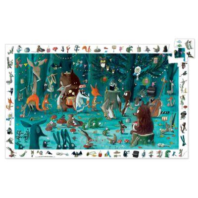 Megfigyelő puzzle, Zenekar (Djeco, 7588, 35 db-os puzzle, 4-8 év)