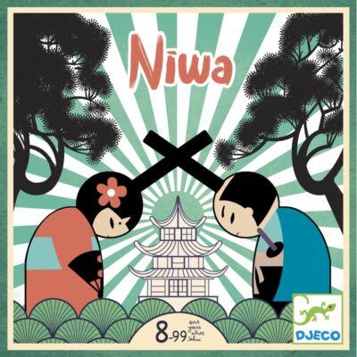 Niwa (Djeco, 8489, kétszemélyes stratégiai társasjáték, 7-99 év)