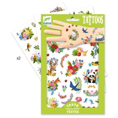 Tetoválás, Tavasz (Djeco,9591, kreatív játék, 3-10 év)