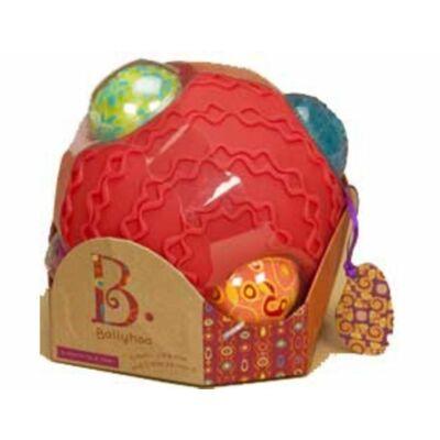 B.TOYS  Ballyhoo - Érzékelő labda szett (0-4 év)