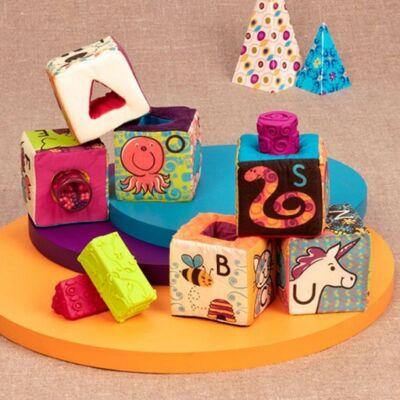 B.TOYS  aBc Block Party bébijáték