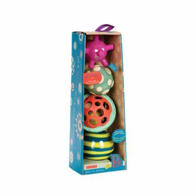 B.TOYS Ball-a-balloos, 4 érzékelő bébilabdák (BX1462, 1-5 év)