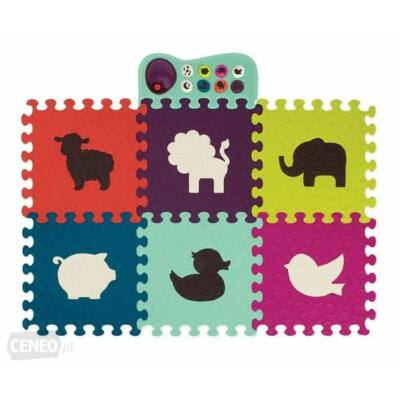 B.TOYS  Zenélő állatos padló puzzle