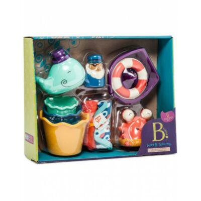 B.TOYS  Babalátogató játékcsomag - fürdő