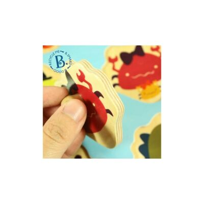 B.TOYS  Forma puzzle - Tenger (1-3 év)