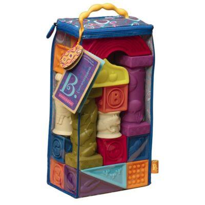 B.Toys, Elemenosqueeze - színes puha építőjáték