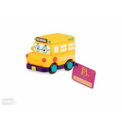 B.TOYS  Mini lendkerekes autó - Iskolabusz (1-4 év)
