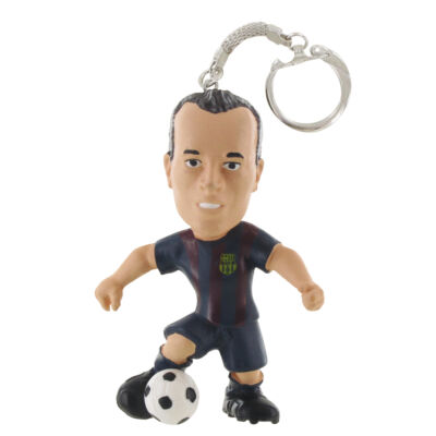 FC Barcelona Iniesta kulcstartó (Comansi, ajándéktárgy, 3-10 év)