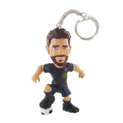 FC Barcelona Pique kulcstartó (Comansi, ajándéktárgy, 3-10 év)