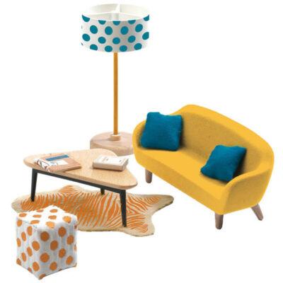 Djeco szerepjáték - The orange living room