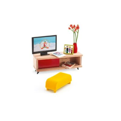 Djeco szerepjáték - The TV room