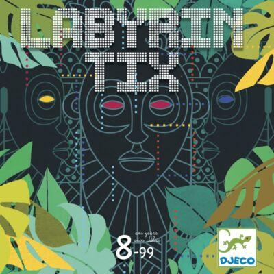 Labyrintix (Djeco, 8487, gyorsasági megfigyelős társasjáték, 8-99 év)