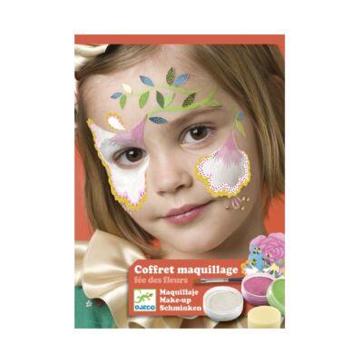 Arcfesték, Virágtündér, 3 szín (Djeco,9204, arcfesték, 3-12 év)