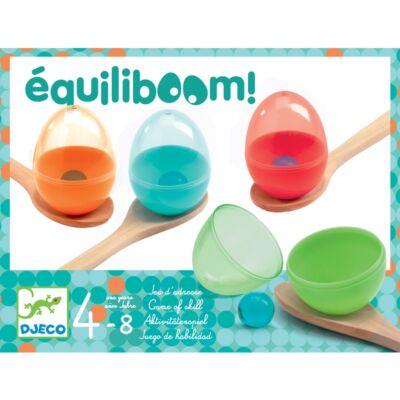 Equiliboom (Djeco, ügyességi játék zsúrokra, 4 éves kortól)