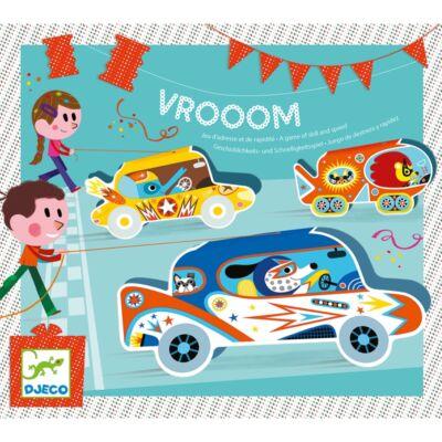 Vrooom, autóversenyzős  partijáték (Djeco, 2093, 4-8 év)
