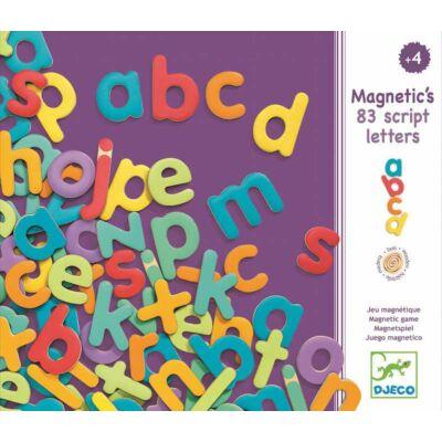 Mágneses írott betű (Djeco, 3102, 83 db-os kreatív játék, 4-8 év)