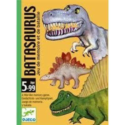 Batasaurus (Djeco, 5136, dinoszauruszos memória kártyajáték, 5-14 év)